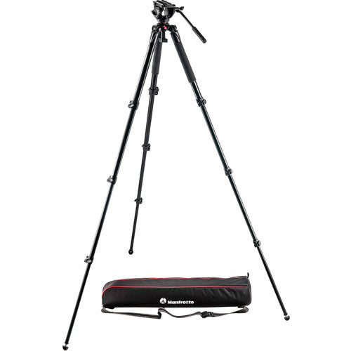 MANFROTTO TRIPOD - MVK500AQ W/MVH500A FLUID VIDEO D