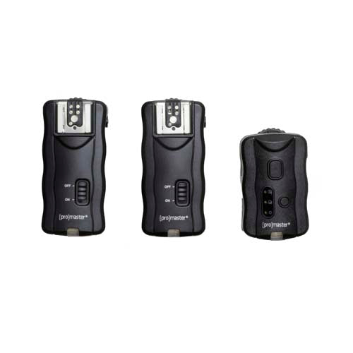 PRO FLASH TRIGGER SYSTEM W/2 RECEIVERS (PREV. 1450)