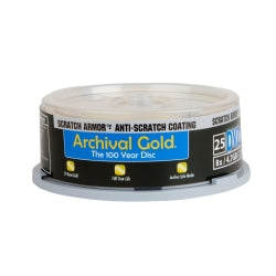 PRO DELKIN AG ARCHIVAL GOLD DVD-R 25-PACK SPINDLE (3182)