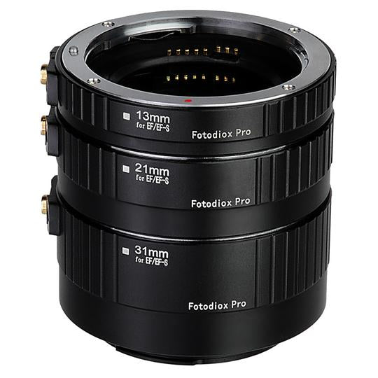 Fotodiox Auto Macro Extension Tube Kit for Canon EOS