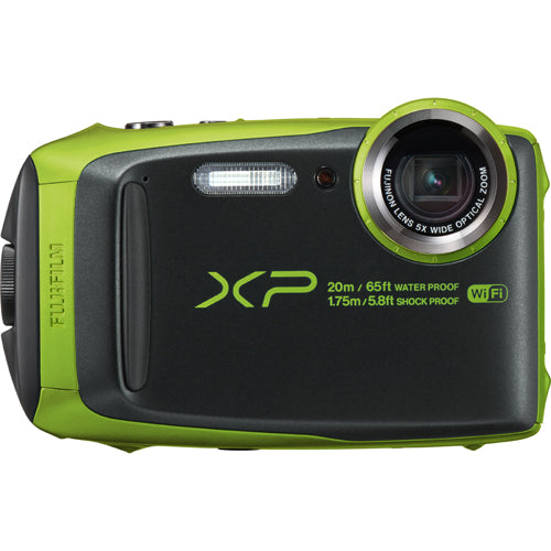 FUJI FINEPIX XP120 WATERPROOF CAMERA - LIME