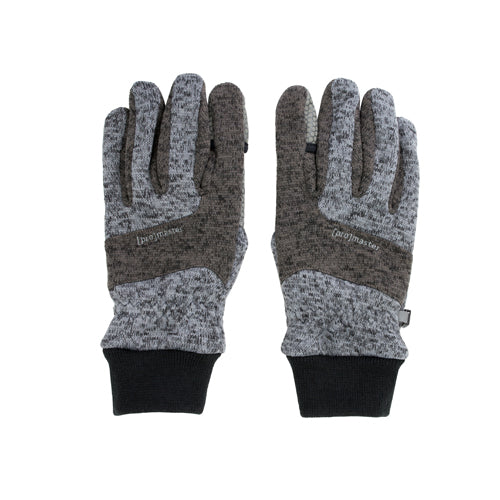 PRO PHOTO GLOVES - KNIT GRAY EXTRA LARGE (7468) D