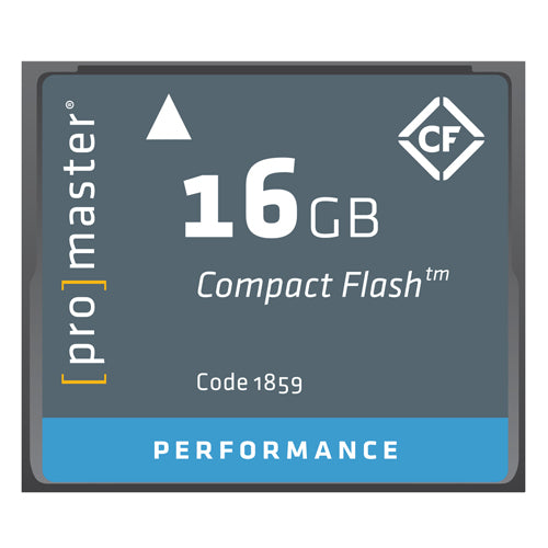 PRO CF CARD PERFORMANCE - 16GB (500X 75R/40W) (1859)