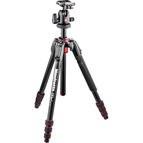 MANFROTTO TRIPOD - 190 GO! MK190GOA4BBHUS W/BALL HEAD