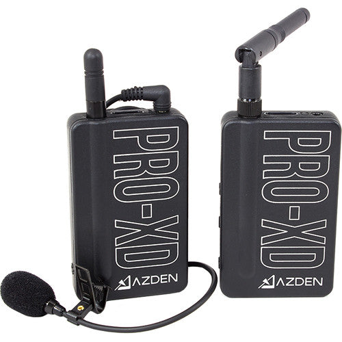AZDEN LAVALIER LAPEL DIGITAL WIRELESS KIT (PRO-XD)