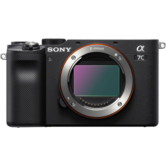Sony A7C Body Only Full Frame Mirrorless (Black)