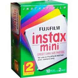 PRO FUJI INSTAX FILM MINI 20-PACK - WHITE