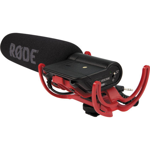 RODE VIDEOMIC W/RYCOTE LYRE SUSPENSION SYSTEM