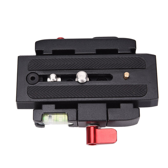 QUICK RELEASE ADAPTER BASE - 577 W/501PL SLIDING VIDEO PLATE (GLIDECAM COMPAT.)
