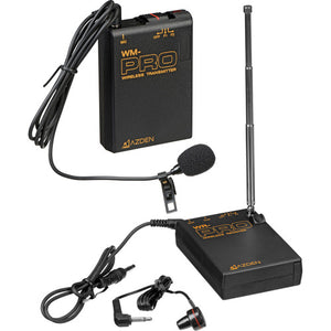 AZDEN LAVALIER LAPEL WIRELESS MIC KIT (WLX-PRO)