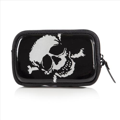 ACME COOL LITTLE CASE POUCH - SILVER SKULL D