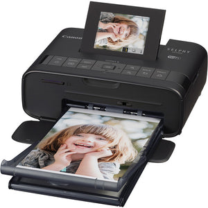 CANON PHOTO PRINTER - SELPHY CP1200 (FOR 4X6) WITH NB-CP2LH BATTERY