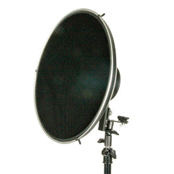 "PRO BEAUTY DISH 16"" W/HONEYCOMB GRID FOR PRO/BOWENS"
