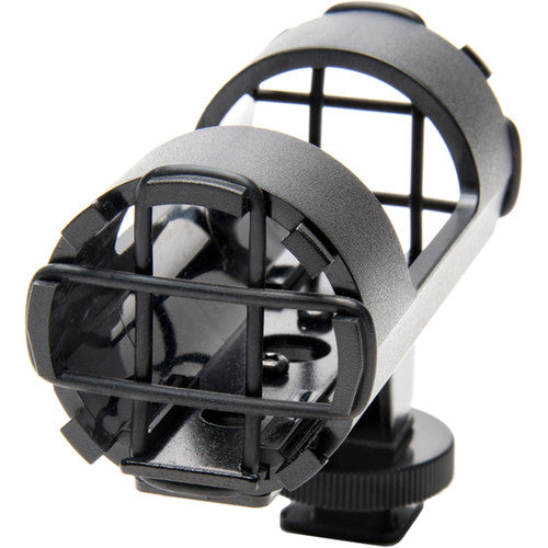 AZDEN SHOCK MOUNT MIC HOLDER FOR SHOTGUN MICS (SMH-1)