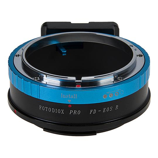 Fotodiox Pro Lens Mount Adapter Compatible with Nikon Nikkor F Mount G-Type D/SLR Lenses to Canon RF (EOS-R)