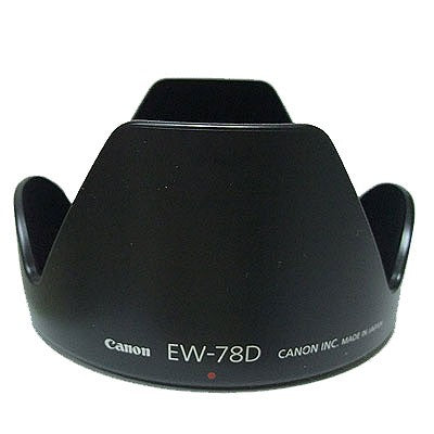 CANON LENS HOOD - EW-78D (FOR EF-S 18-200MM IS & 28-200MM)))
