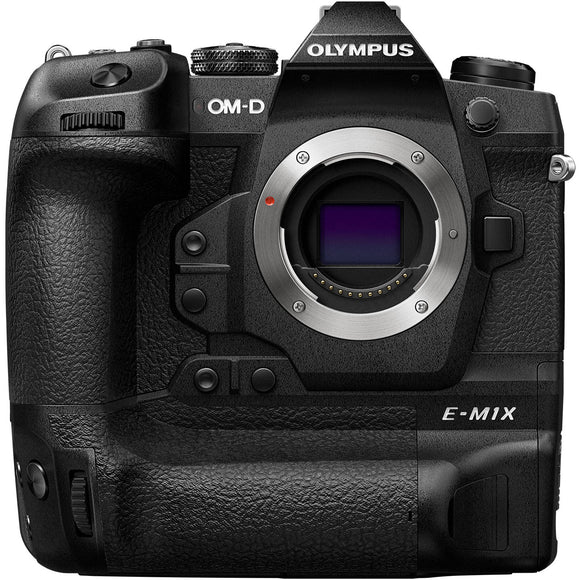 Key Features  20.4MP Live MOS Micro Four Thirds Sensor Dual TruePic VIII Image Processors Integrated Vertical Grip, Dual Batteries 2.36m-Dot 0.83x Electronic Viewfinder