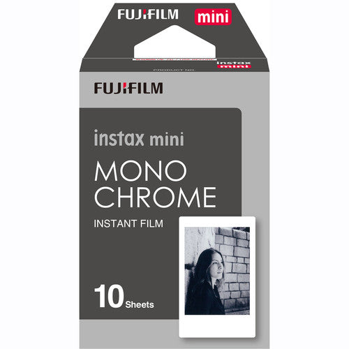 PRO FUJI INSTAX MINI MONOCHROME FILM 10-PACK
