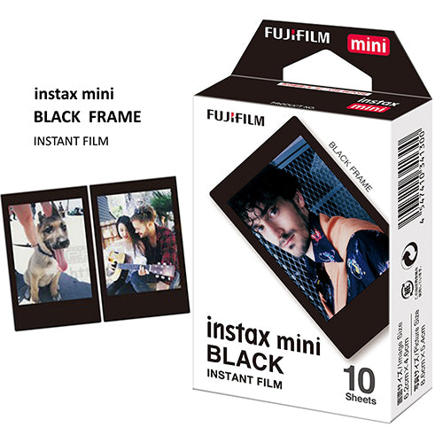 PRO FUJI INSTAX MINI BLACK FRAME FILM 10-PACK (7748)