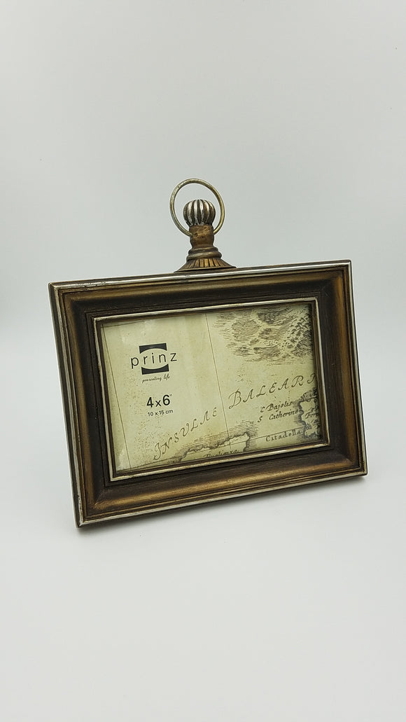Prinz 6x4 Brass Pocket Watch Frame