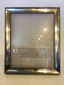 Malden 8x10 Pewter & Black