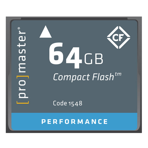 PRO CF CARD PERFORMANCE - 64GB (500X 75R/40W, 1548)