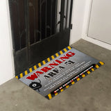 Area 51 Door Entrance Floor Art - LA31 Store