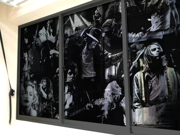 Music Legends Windows & Glass Art - LA31 Store