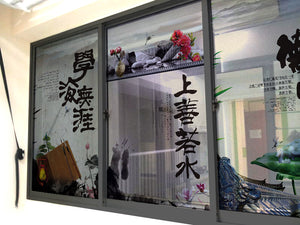 Chinese Paintings Windows & Glass Art - LA31 Store