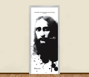 Jesus is with You Residential Door Art - LA31 Store