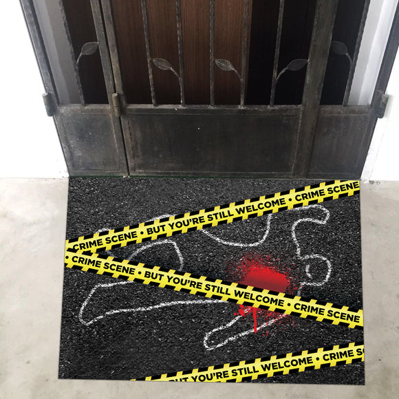 Crime Scene Door Entrance Floor Art - LA31 Store