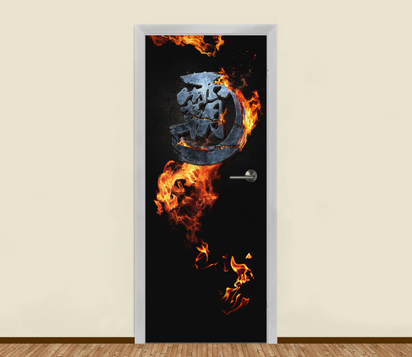 The Dominator Residential Door Art - LA31 Store