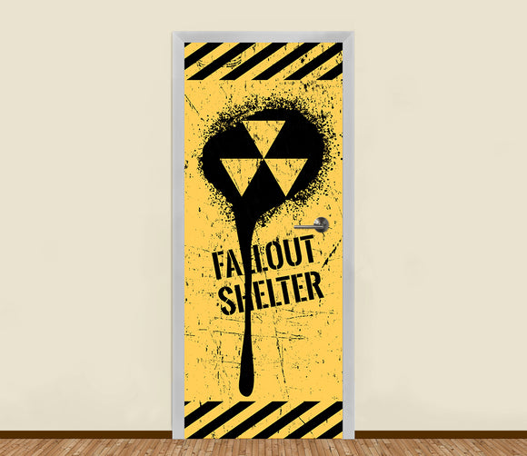 Fallout Shelter Residential Door Art - LA31 Store