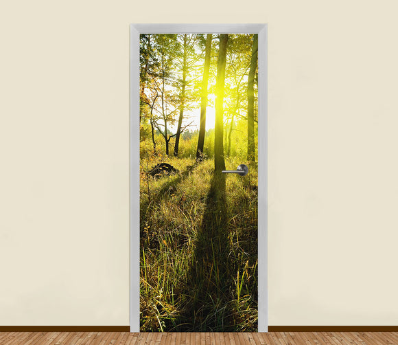 Forest Light Residential Door Art - LA31 Store
