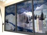 Snowy Mountain Windows & Glass Art - LA31 Store
