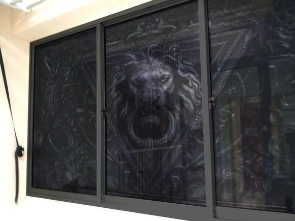 Gothic Lion Windows & Glass Art - LA31 Store