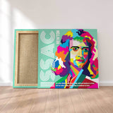 Issac Newton Pop Culture Canvas Art