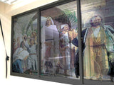 Triumphal entry to Jerusalem Windows & Glass Art - LA31 Store
