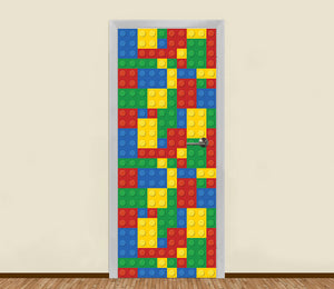 Lego Bricks Residential Door Art - LA31 Store