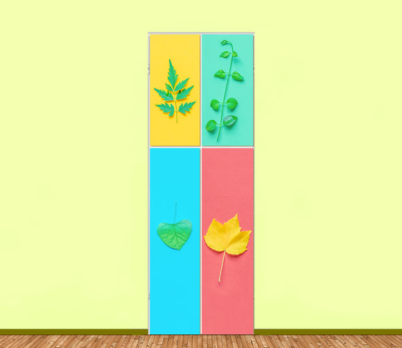 Nature Utility Cabinet Sticker Art Sets (4pieces) - LA31 Store