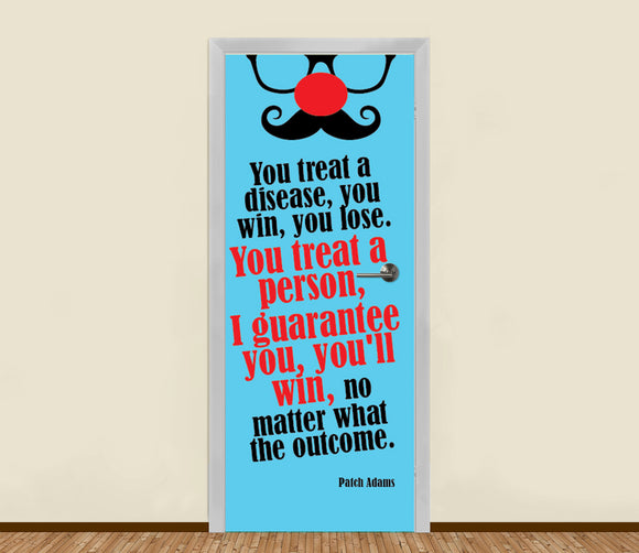 Patch Adams Residential Door Art - LA31 Store