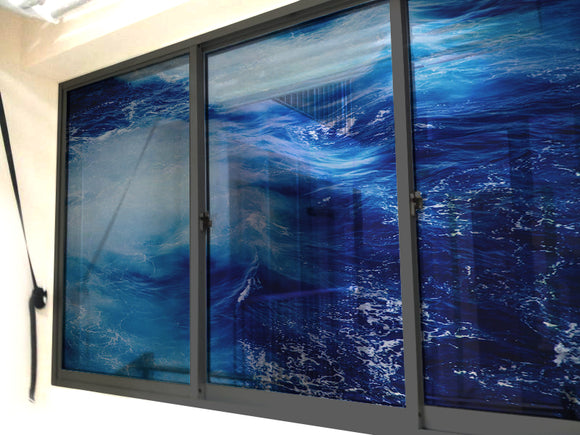The Raging Sea Windows & Glass Art - LA31 Store