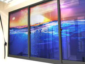 Clear Waters with Sunrise Windows & Glass Art - LA31 Store
