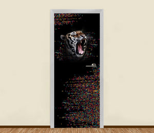 Tiger Roar Residential Door Art - LA31 Store