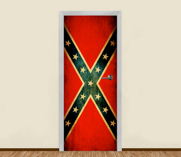 USA Confederate Residential Door Art - LA31 Store