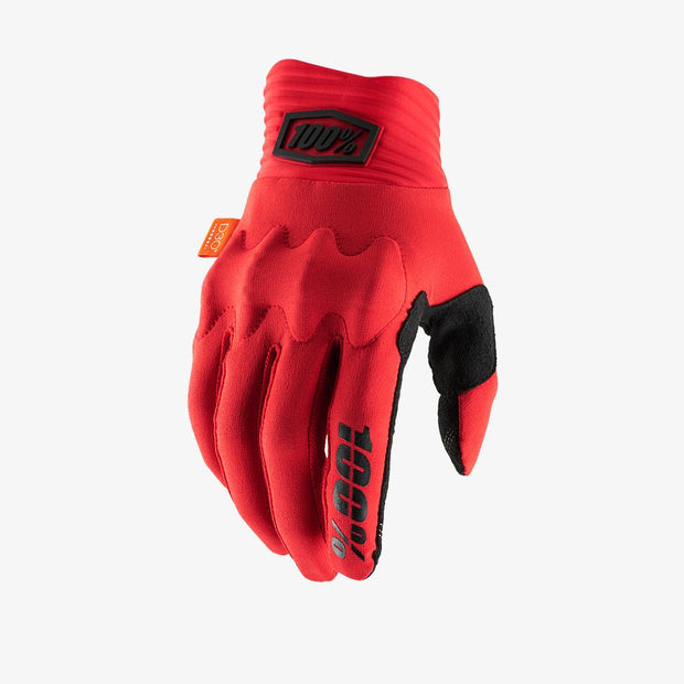 100% - COGNITO Glove Red/Black
