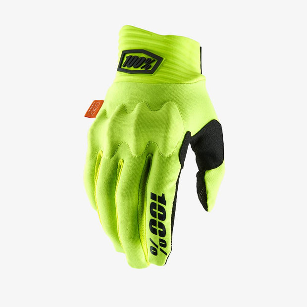 100% - COGNITO Glove Fluo Yellow/Black