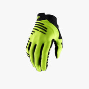 100% - R-CORE Gloves  Fluo Yellow