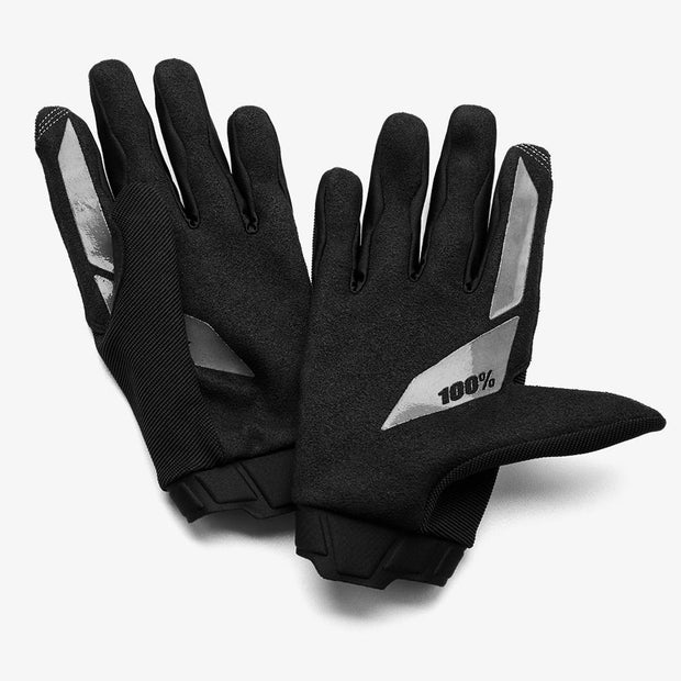 100% -RIDECAMP Navy Gloves