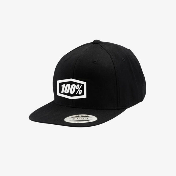 100% CORPO Classic SnapBack Hat - Black/White - Speed Hunter SG